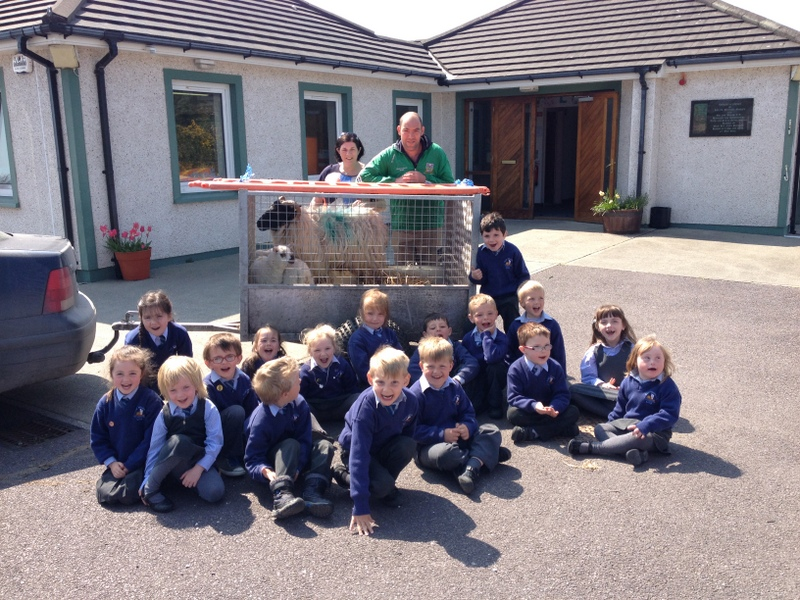 Thanks very much to Don and Katie for making springtime so special for Junior Infants!