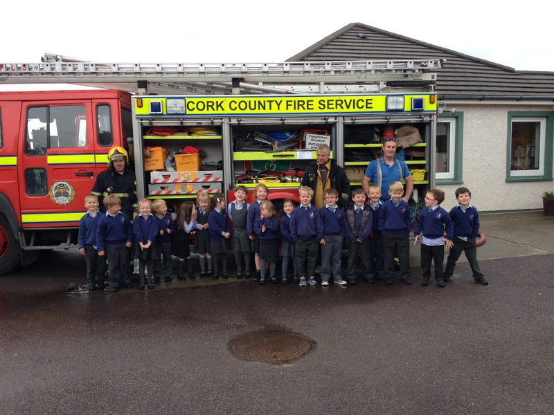 A big thank you to Schull Fire Brigade for taking the time to visit us!