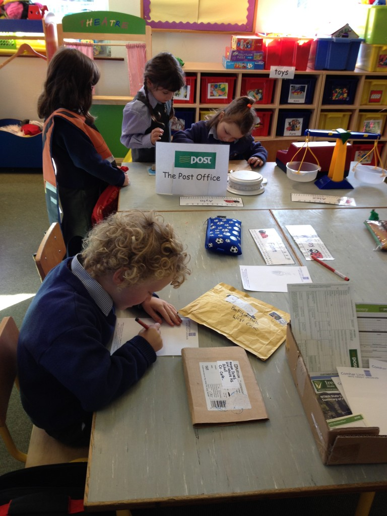 Our busy post office!