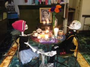 remembering the dead the Mexican way