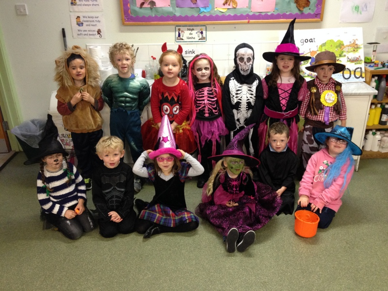 Our fantastic costumes!