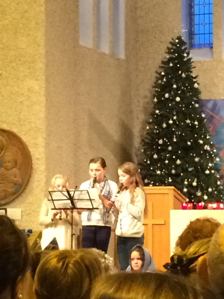 A beautiful rendition of Silent Night on the recorder!