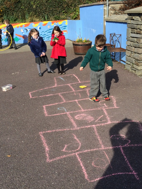 We loved hopscotch!