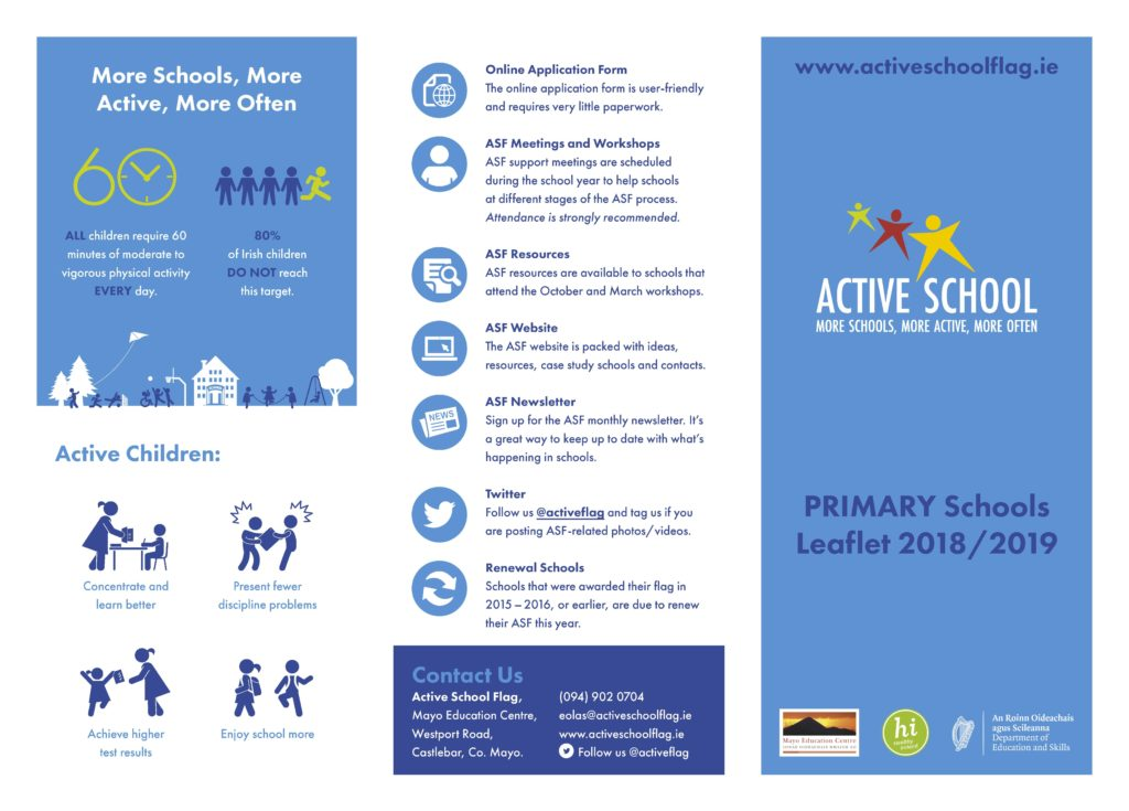 What is the Active School Flag? (ASF) - Scoil Mhuire